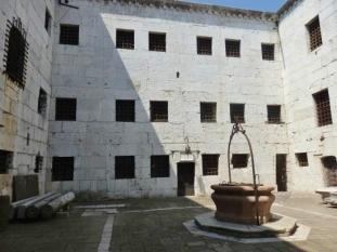 prison courtyard