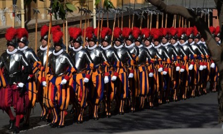 VATICAN-SWISS-GUARDS-SWEAR-IN-CEREMONY