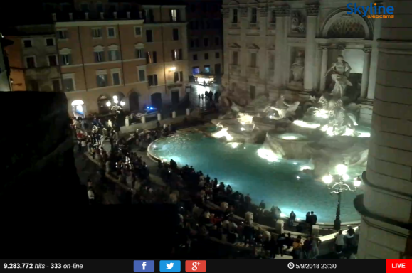 trevi webcam