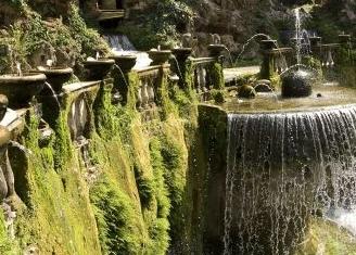 villa d este fountain