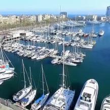 B barcelona harbor
