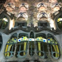 S Casa Batllo at night
