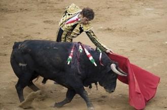 Last bullfight at La Monumental