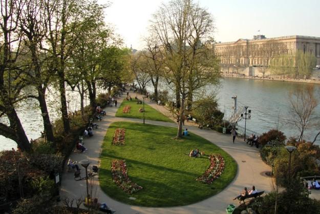 Square du Vert Galant - Paris (France)