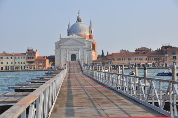 Ponte Redentore water bridge