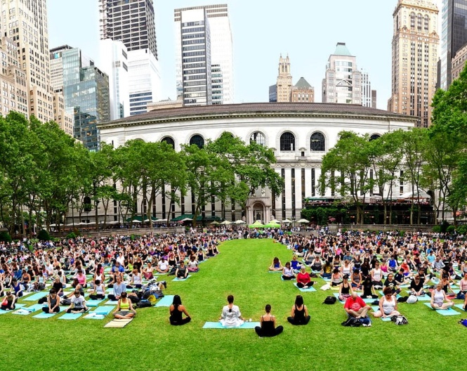 Yoga bryant park