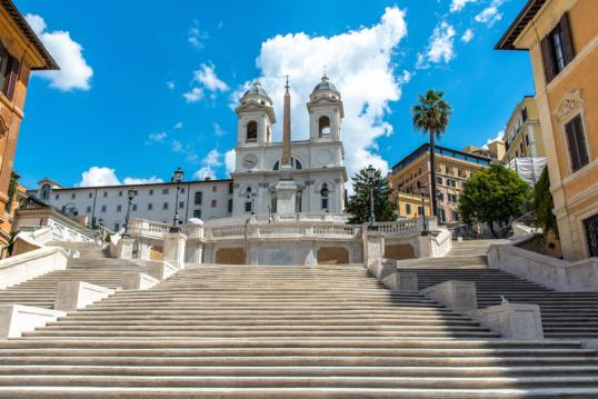new spanish steps